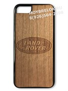 Деревянный чехол Лэнд Ровер на телефон