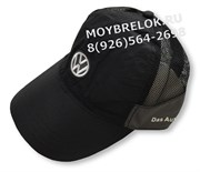 Кепка Фольксваген GTi черная, легкая