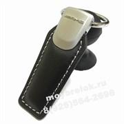 Брелок Мерседес AMG для ключей кожаный (q-type), выпуклая эмблема