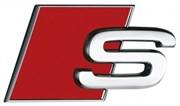 Эмблема Ауди S багажник