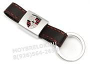 Брелок Порше для ключей кожаный ремешок (rm)