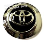 Колпачки в диск Тойота Cruiser, Prado 93/93 мм черные