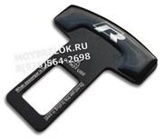 Заглушки Фольксваген R ремня безопасности, пара (Т-тип, металл)