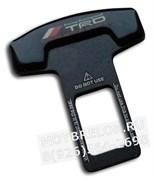 Заглушки Тойота TRD ремня безопасности, пара (Т-тип, металл)