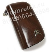 Ключница Ситроен коричневая на молнии