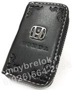 Ключница Хонда черная на молнии