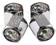Колпачки на ниппель Мерседес Affalterbach AMG (шестигр.-хром) комплект 4шт
