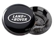 Колпачки в диск Лэнд Ровер (62/50 мм) черные с окантовкой хром / (кат.BH1M-37190-AB)