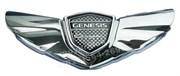 Эмблема Хендэ Genesis капот / багажник хром, без окантовки