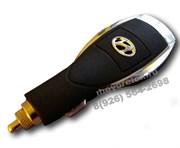 Зарядка Хендэ в прикуриватель USB, черная