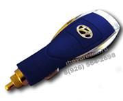 Зарядка Хендэ в прикуриватель USB, синяя