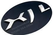 Эмблема Ягуар XJ , XJL на багажник / (кат.C2D5878)