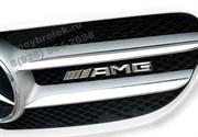Эмблема Мерседес AMG на решетку радиатора