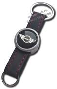 Брелок Мини Купер для ключей кожаный ремешок (rm2)