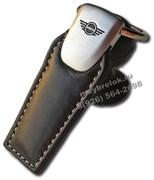 Брелок Мини Купер для ключей кожаный (q-type)