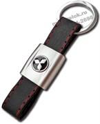 Брелок Митсубиси для ключей кожаный ремешок (rm)