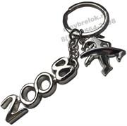 Брелок Пежо 2008 для ключей
