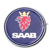 Эмблема Сааб (68,5 мм) капот