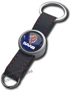 Брелок Сааб для ключей кожаный ремешок (rm2)