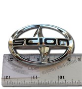 Эмблема Сцион 6 см капот / багажник