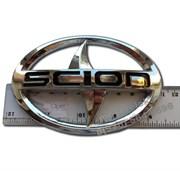 Эмблема Сцион 11 см капот / багажник