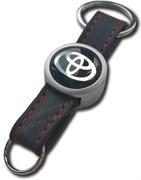 Брелок Тойота для ключей кожаный ремешок (rm2)