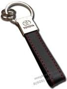 Брелок Тойота для ключей кожаный прямоугольный