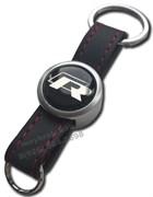 Брелок Фольксваген R для ключей кожаный ремешок (rm2)
