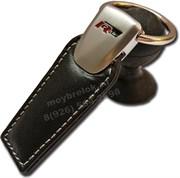 Брелок Фольксваген R-line для ключей кожаный (q-type)