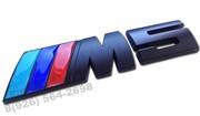 Эмблема БМВ M5 багажник (черн.металл)