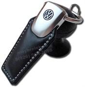 Брелок Фольксваген для ключей кожаный (q-type)