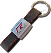 Брелок Фольксваген R для ключей кожаный ремешок (rm)