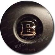 Эмблема Мерседес Brabus в руль на 3М скотче (52 мм)
