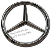 Эмблема Мерседес в руль на штырях (52 мм)