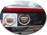 Эмблема Кадиллак 11 см багажник