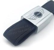 Брелок Мини Купер для ключей кожаный ремешок (rm)