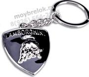 Брелок Ламборгини для ключей хром