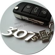 Брелок Пежо 307 для ключей