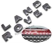Эмблема Land Rover, хром