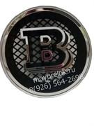 Эмблема Brabus на решетку радиатора Мерседес Хром