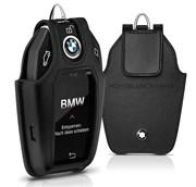 Кожаный чехол БМВ для ключа с сенсорным экраном