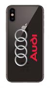 Чехол на телефон с логотипом Ауди