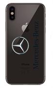 Чехол на телефон с логотипом Мерседес