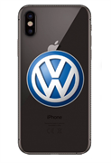 Чехол на телефон с логотипом Фольксваген
